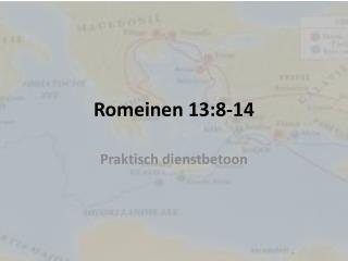 Romeinen 13:8-14