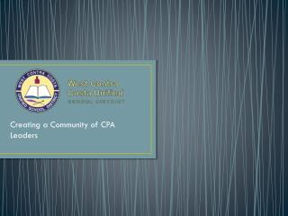 Creating a Community of CPA Leaders
