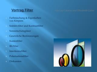 Vortrag Filter