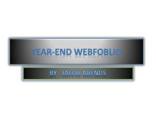 Year-End Webfoblio
