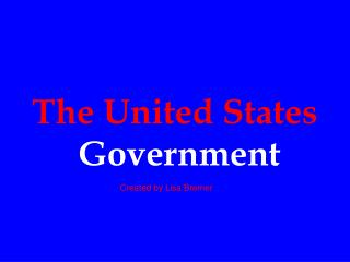 The United States Govern