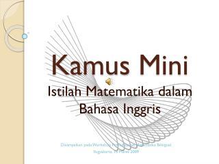 Kamus  Mini