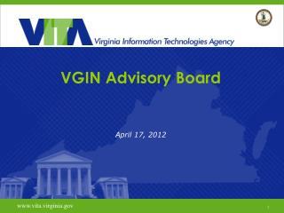 VGIN Advisory Board