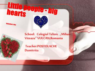Little people - big hearts Valentine's day
