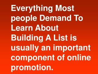 Your Ultimate List Builder
