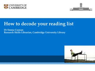 How to  decode your  reading  list