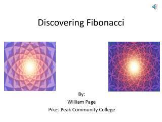 Discovering Fibonacci