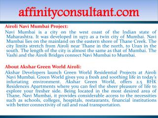 Navi Mumbai  Residential Projects +91-9999684166 Navi Mumbai