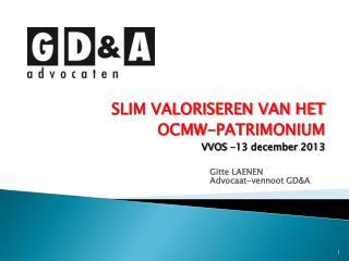 Gitte LAENEN Advocaat-vennoot GD&A