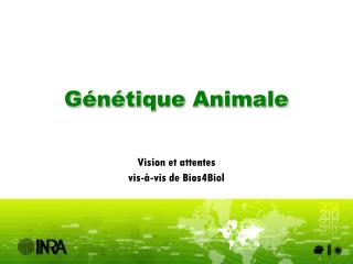 Génétique Animale