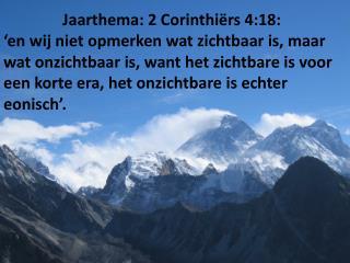 ons evangelie  bedekt is ,  is het bedekt in degenen  die verloren gaan….  (vers 3)