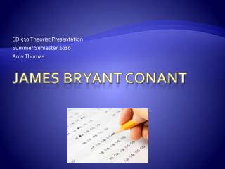 James Bryant Conant