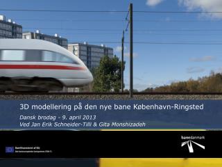 3D modellering på den nye bane København-Ringsted