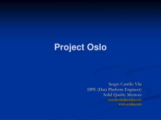 Project Oslo