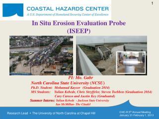 In Situ  Erosion  Evaluation Probe ( ISEEP )