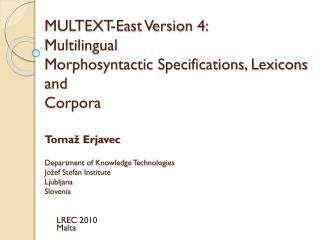 LREC 2010 Malta