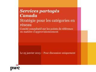 Services partagés Canada