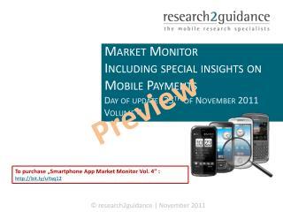 Smartphone App MArket Monitor Vol.4
