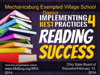 Ohio  State Board of EducationFebruary 10, 2014