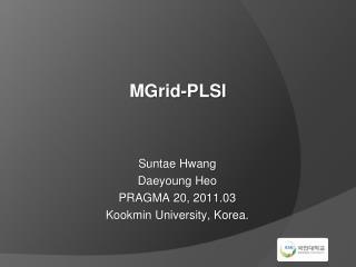 MGrid -PLSI