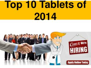 Top 10 Tablets of 2014