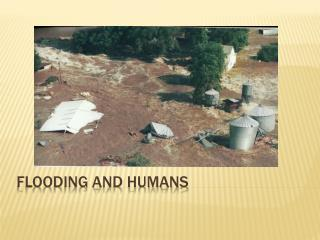 Flooding and Humans