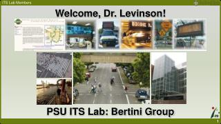 Welcome, Dr. Levinson!