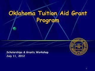 Oklahoma Tuition Aid Grant Program