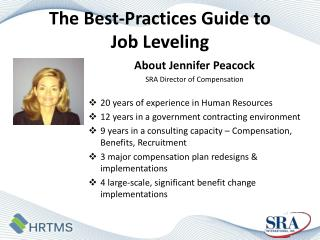 The  Best-Practices Guide to  Job  Leveling