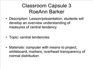Classroom Capsule 3 RoeAnn Barker