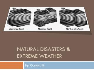 Natural Disasters & Extreme Weather GustavoB