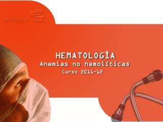 HEMATOLOG�A