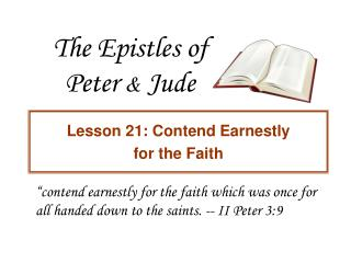 The Epistles of Peter  &  Jude
