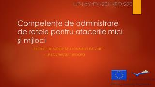 Competenţe de administrare de reţele pentru afacerile mici şi mijlocii