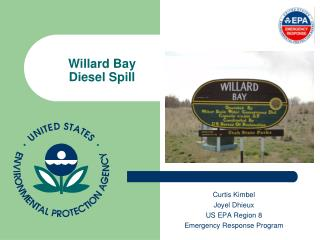 Willard Bay Diesel Spill