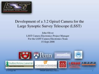 Development of a 3.2  Gpixel  Camera for the Large Synoptic Survey Telescope (LSST)