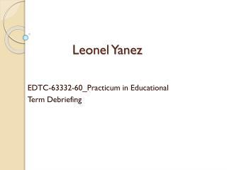 Leonel Yanez
