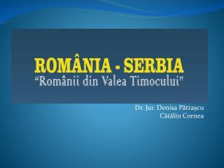 Dr.  Jur .  Denisa  P ătrașcu Cătălin Cornea
