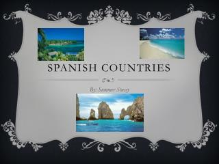 Spanish Countries