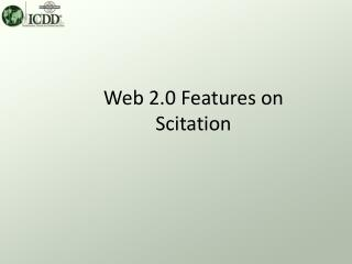 Web 2.0 Features on Scitation