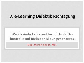 Webbasierte  Lehr-  und Lernfortschritts-  kontrolle  auf Basis  der Bildungsstandards