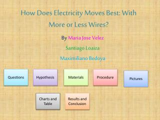How Does Electricity Moves Best: With More or Less Wires?