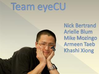 Team  eyeCU