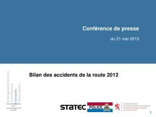 Conférence de presse du  21  mai 2013