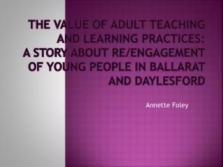 Annette Foley