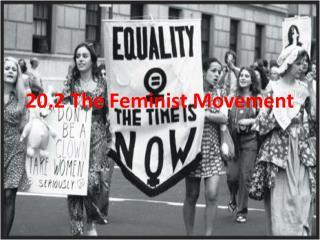 20.2 The Feminist Movement