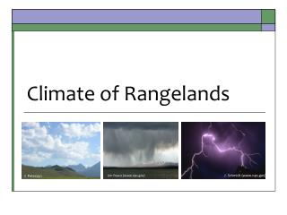Climate of Rangelands