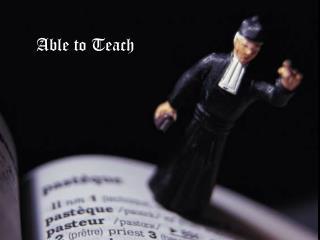 Able to Teach