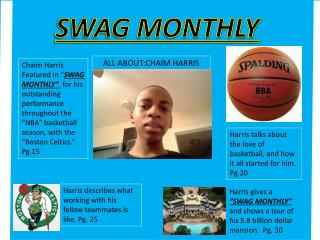 SWAG MONTHLY