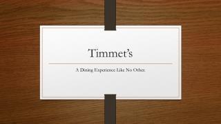 Timmet's